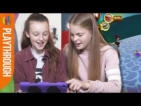 The Worst Witch cast play the Magic Adventure game!