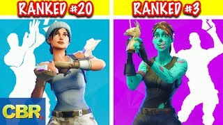 The 20 Best Fortnite Dances And Their Origin