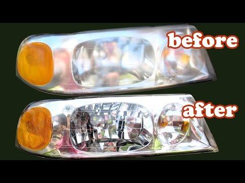 How To Clean Headlights Foggy - 3M Headlight Restoration Kit Cleaner - Car Automotive - DIY DIYdoers