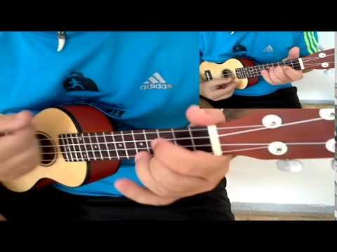 Really don\'t care Demi Lovato ( ukulele cover ) guitar - YouTube