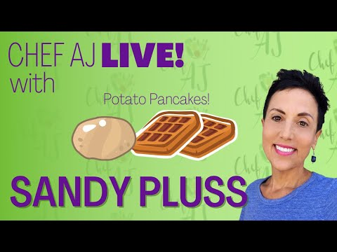 DIY VEGAN BRUNCH | HOMEMADE POTATO WAFFLES With SANDY PLUSS