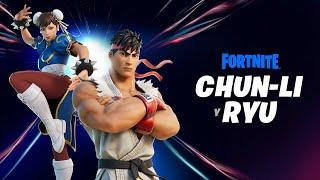 Los legendarios luchadores Ryu y Chun-Li llegan a través del Punto cero