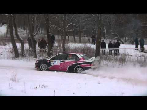 Halls Winter Rally Utena 2013.part2/2