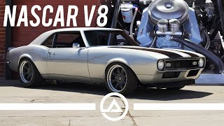 NASCAR Powered V8 Camaro with Straight Cut Gears | Raw American Muscle Car