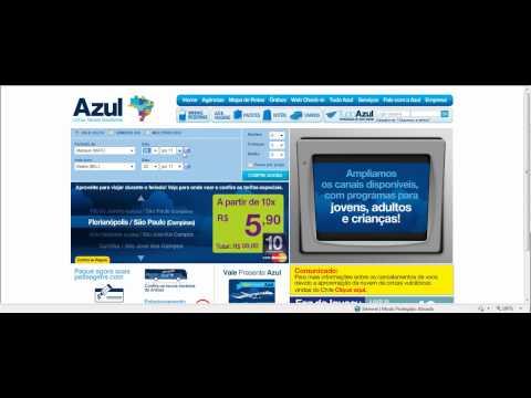 Passagens Aereas Promocionais Azul a partir de R$ 99,00 - dia 21/06/2011