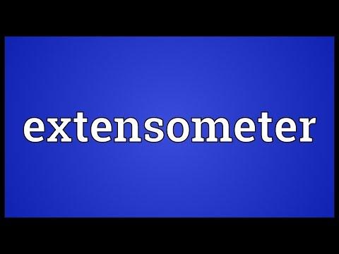 Header of extensometer