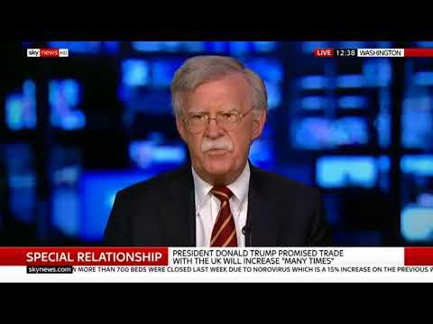 Amb John Bolton rips Sky News's Kay Burley a New One!