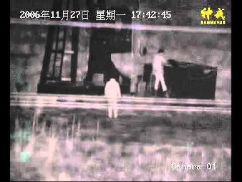China Sheenrun laser camera oilfield stealing oil  demo