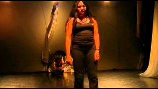 Solmaz Vakilpour - WARLESS DAY - Theater - Practicing