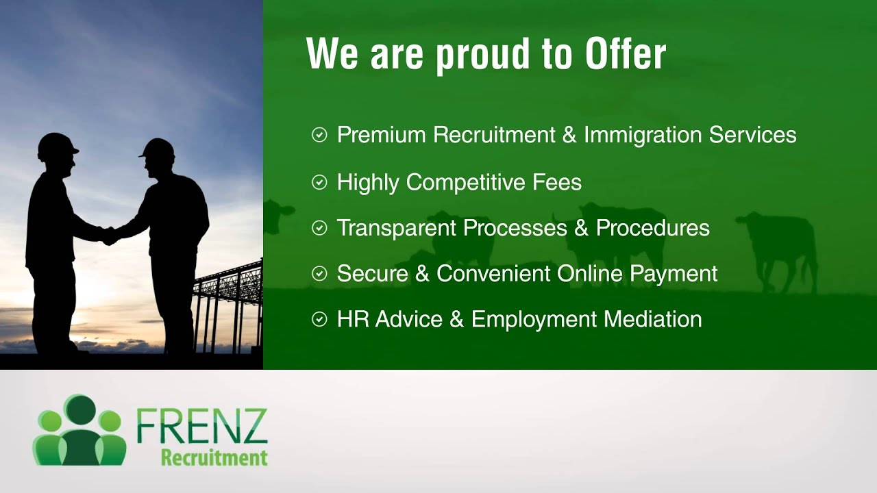 FRENZ Recruitment and Immigration – New Zealand immigration