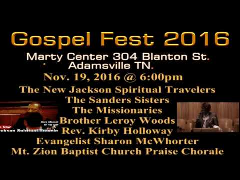 Gospel Fest 2016 Promote