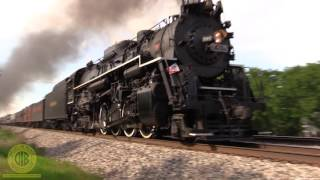 High Speed Steam Nickel Plate 765 At 70mph