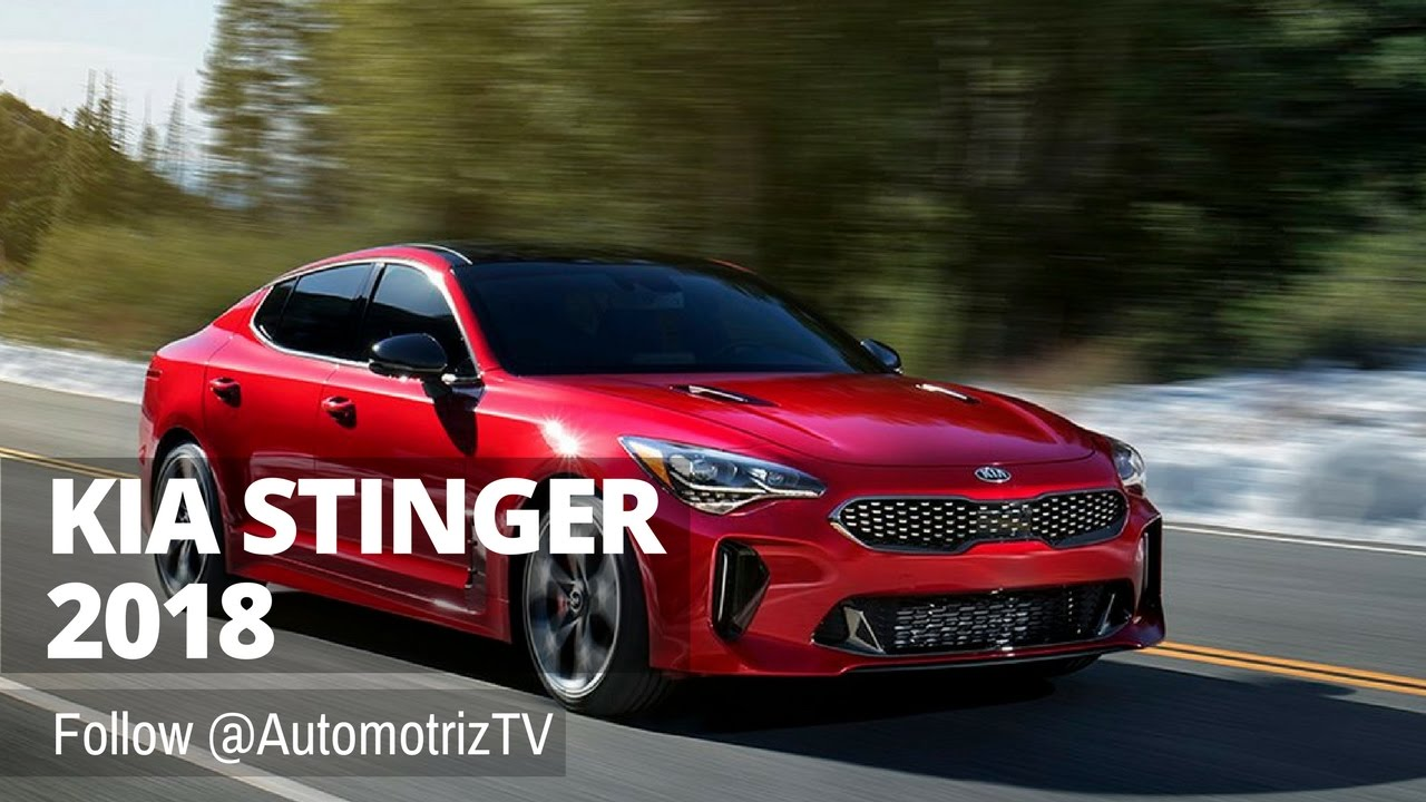 😍 nuevo kia stinger 2018 - youtube