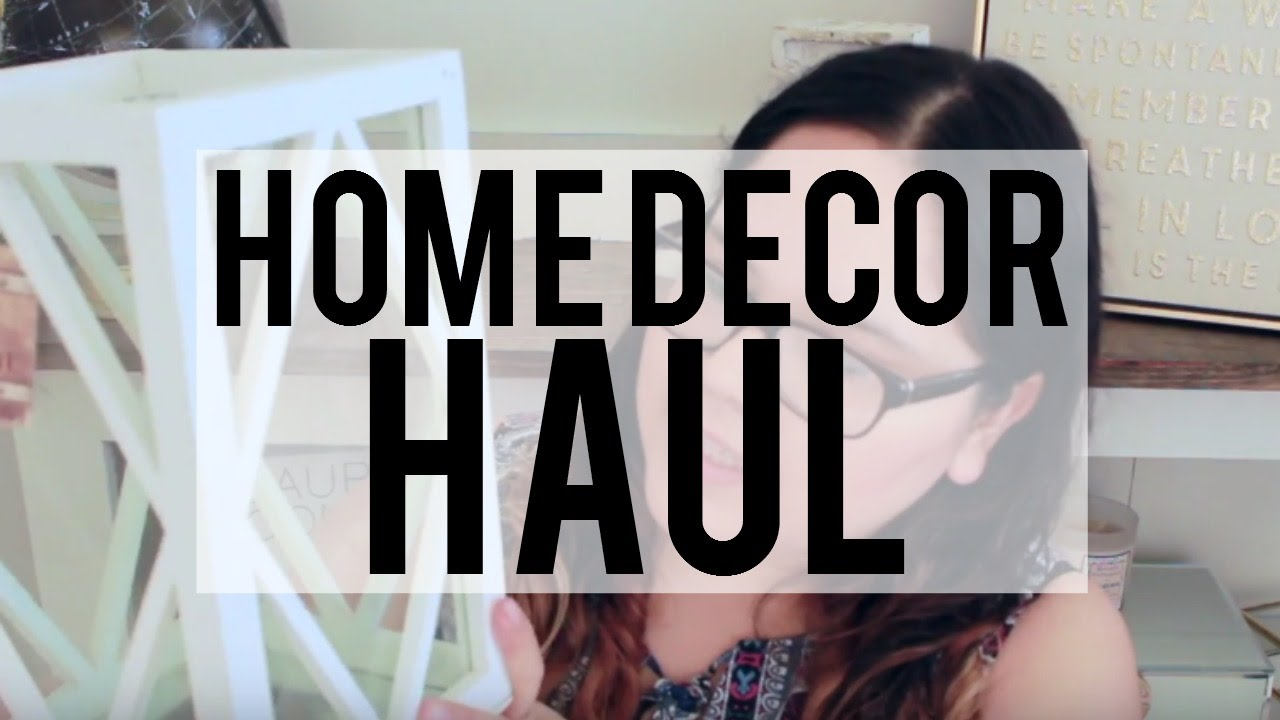 Home Decor Haul Tjmaxx Kirklands Ross More