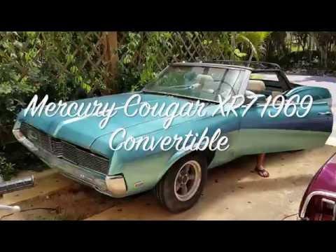 Восстанавливаю Mercury Cougar 1969