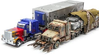 Transformers Movie 3 DOTM Studio Series Optimus Prime Megatron Truck Car Robot Toys