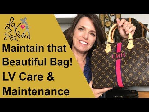 Louis Vuitton MON Speedy like New! Tips for Perfect Patina - Vachetta Care - Wear & Tear Update