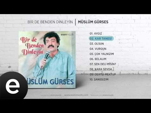 Kar Tanesi (Müslüm Gürses) Official Audio #kartanesi #müslümgürses
