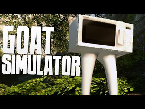 MICROWAVE, BEAR, & ZEUS - Goat MMO Simulator Funny Moments