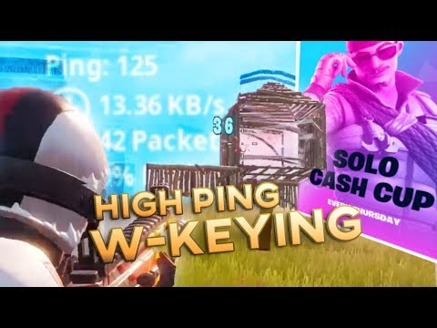 72hrs W Keys On High Ping West Coast Servers - SOLO CASH CUP (Fortnite Battle Royale)