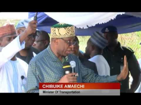 FED. GOVT LAUNCHES AJAOKUTA ONITSHA WATER WAYS MAINTENANCE DREDGING