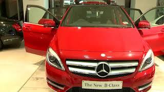 Review Mercedes Benz B 180