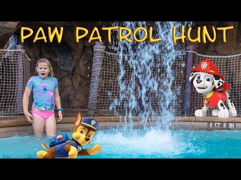 PAW PATROL Nickelodeon Assistant Searches Disney Resort for Chase Rubble and Pups