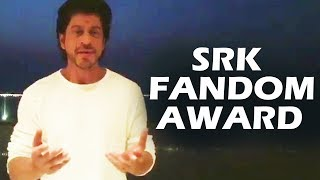 Shahrukh Khan Special Video For SRK Fandom Awards 2017