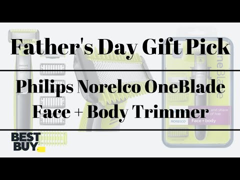 Philips Norelco OneBlade Face + Body Trimmer from Best Buy