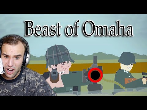 Estonian Soldier reacts to the Beast of Omaha