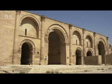 Iraqi forces say they have seized Hatra antiquities site