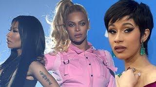 Beyonce SIDES With Nicki Minaj, Cardi B Planning EPIC DISS Track!