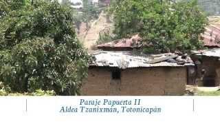 Inauguración Sistema de Agua Papuerta,  Aldea Tzanixnam, Totonicapán