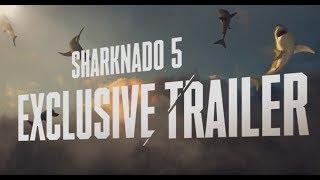 АКУЛИЙ ТОРНАДО 5 (Sharknado 5 Global Swarming) - официальный трейлер Full HD - HZ