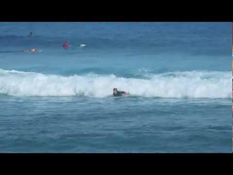 surfing Cabarete, Dominican republic, Bobo's Surfs Up school