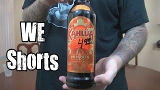 We Shorts - Kahlua Pumpkin Spice Rum & Coffee Liqueur
