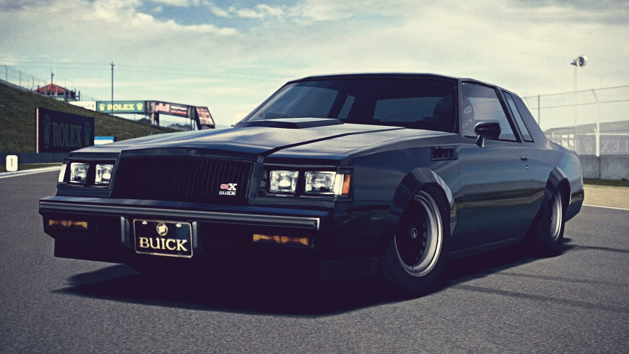 Buick Gnx Tuning >> (GT6) Buick GNX '87 - Exhaust Comparison - YouTube