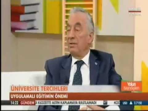Rektörümüz Prof. Dr. Abdurrahim Özgenoğlu HaberTürk'e Konuk Oldu