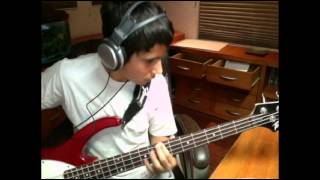 Linkin Park-Papercut (Bass cover)
