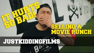 It Hurts So Bad! : Selling A Movie Punch