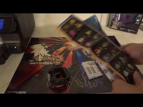 UNBOXiNG REViEW OF Pokemon Z-Power Ring and Z Crystal Set