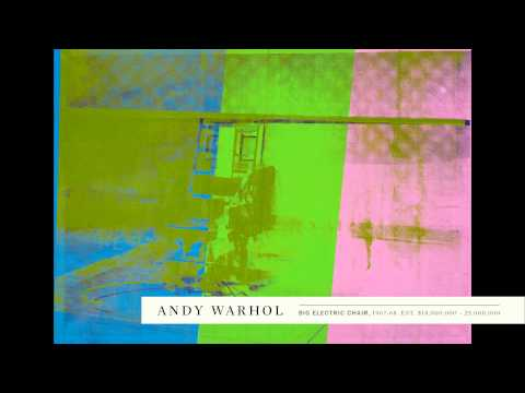 Andy Warhol's Technicolor Big Electric Chair