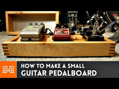 Small Pedal Board for Rob Scallon // How-To