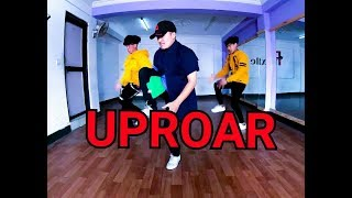 "Lil Wayne - "" UPROAR Dance by flexible dance school"