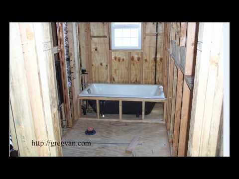 Easy Bathtub Installation Tip for New Home Construction and
