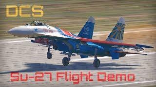 DCS - Su-27 Aerobatic Flight Demonstration - HD 50fps