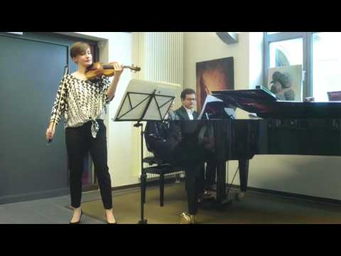 Duo Madziar - Sellheim am 15.05.2016. Sonaten von Janáček, Ravel, Szymanowski