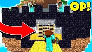 Video WORLD'S MOST OVERPOWRED MINECRAFT BASE! (Minecraft BED WARS Trolling) download MP3, 3GP, MP4, WEBM, AVI, FLV Maret 2018