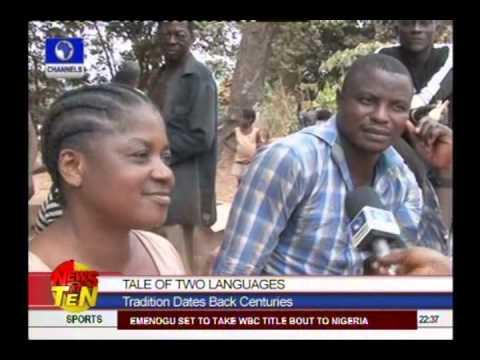Community Where Women Can't Speak Same Language As Men