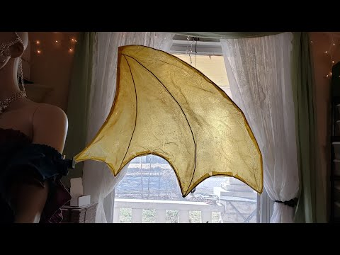 DIY Dragon Wings